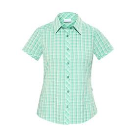Columbia Surviv-Elle II - T-shirt manches courtes Femme - blanc/turquoise